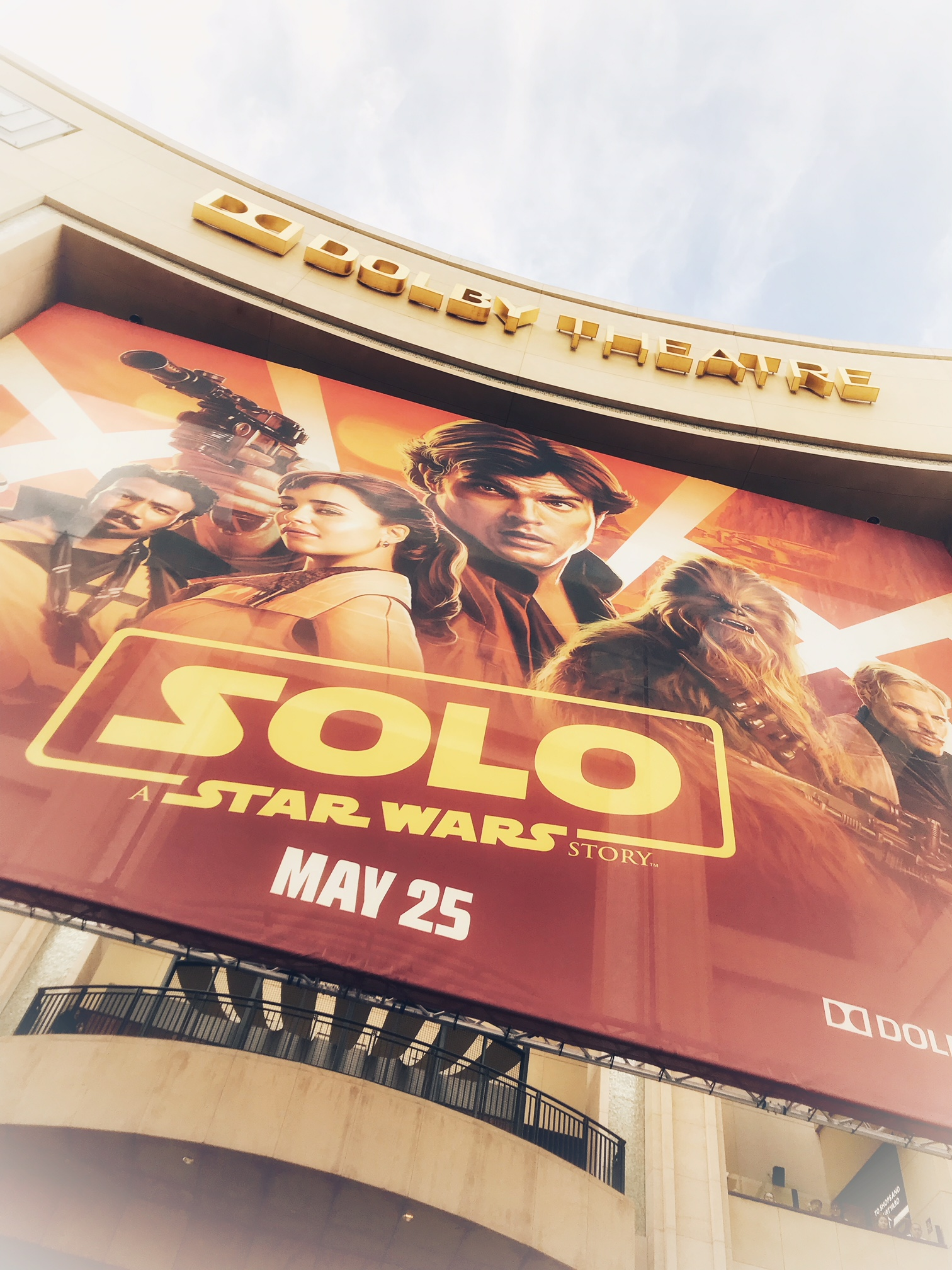 Solo-A Star Wars Story at Dolby Theatre | OC Mom Blog