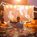 Summer Dive-In Movie nights at Fashion Island Hotel