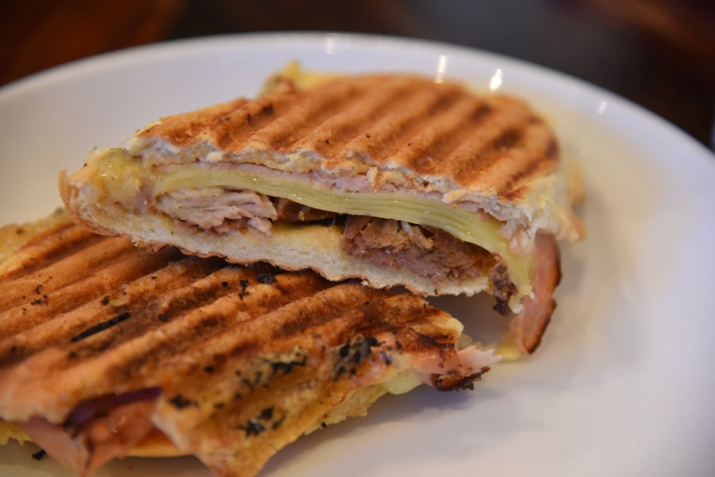 Cuban Sandwich at The Pink House