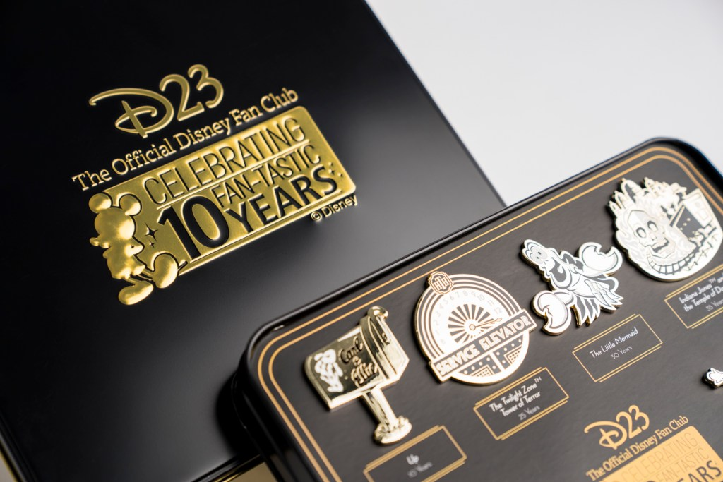 D23 10th Anniversary Collectable Pins | OC Mom Blog