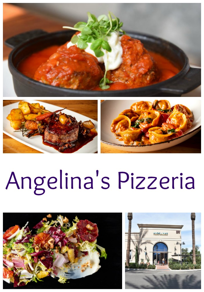 Angelina's Pizzeria in Irvine at the Irvine Spectrum