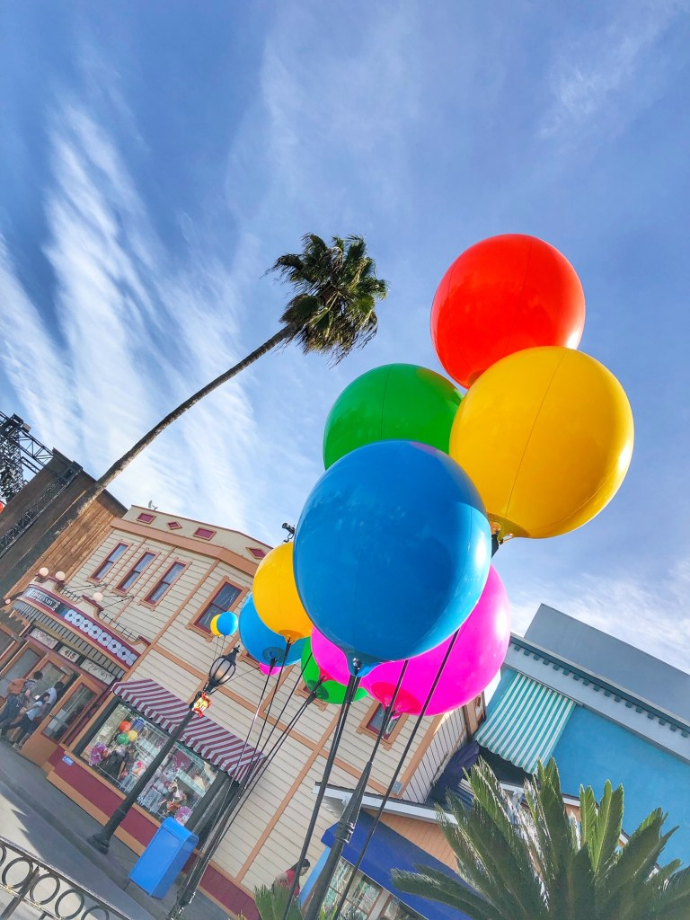 Balloons at the Knott's Peanuts Celebration