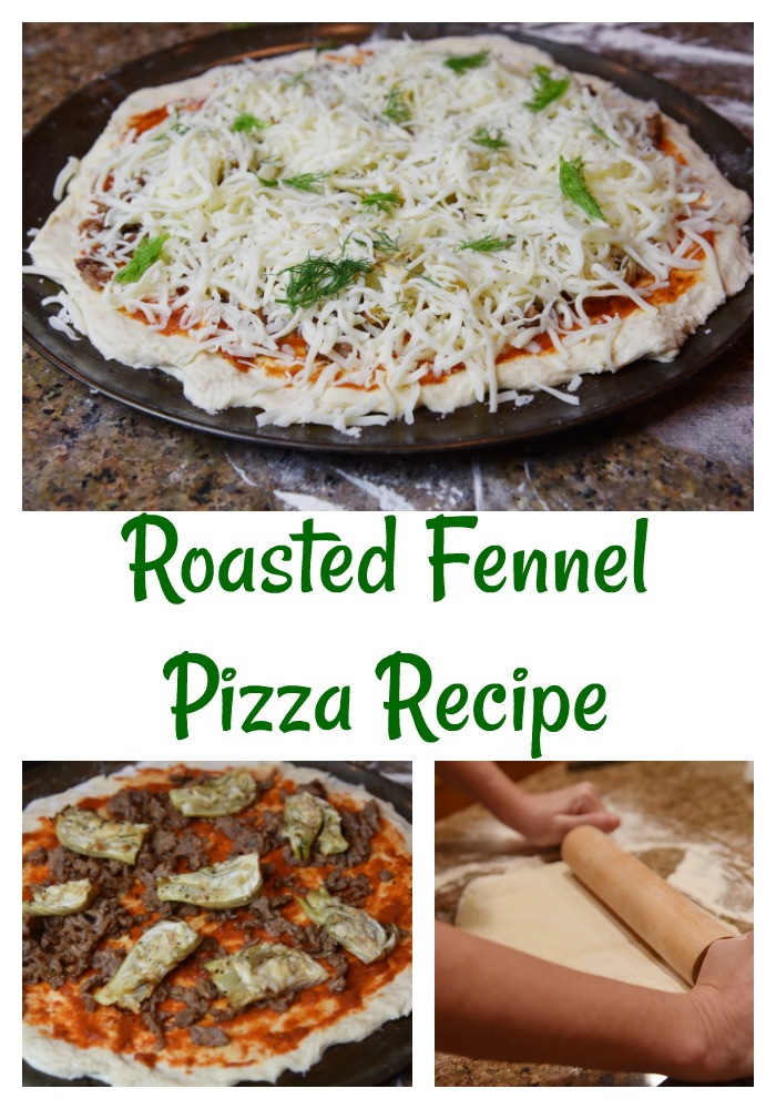Roasted Fennel Pizza Recipe