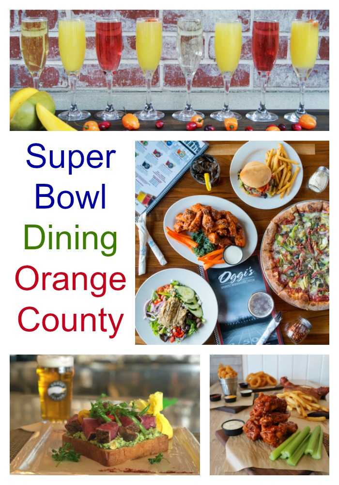 Super Bowl Dining Orange County