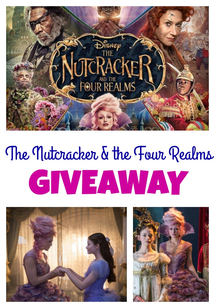 The Nutcracker and the Four Realms Giveaway