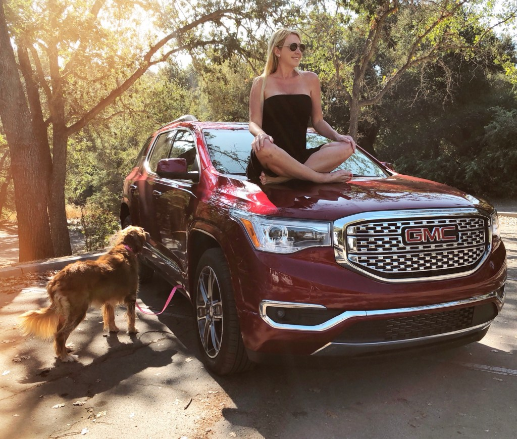 Taking a road trip in the GMC Acadia Denali to Ojai