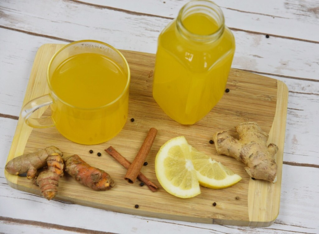 Turmeric Root and Ginger Tea