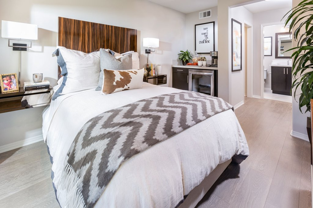 Bedroom at District Walk in Anaheim