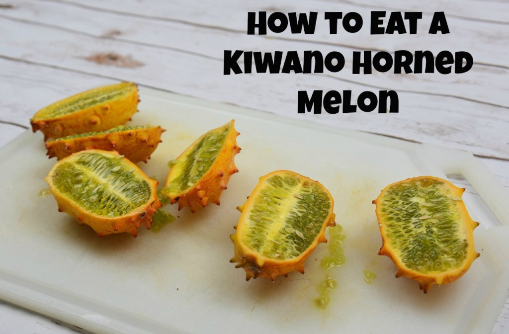 How to eat a Kiwano Horned Melon