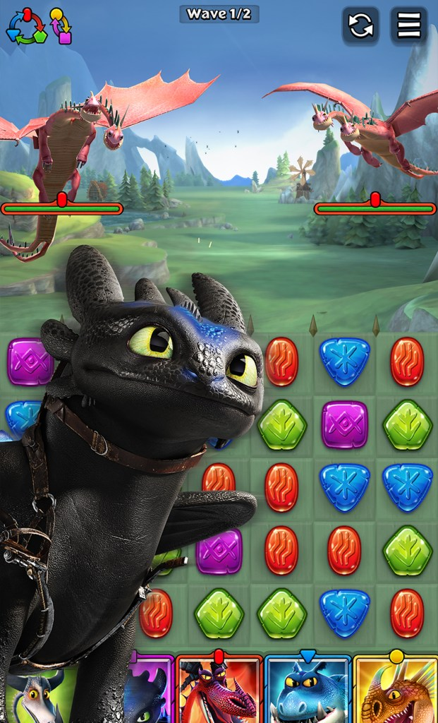 Playing DreamWorks Dragons Titan Uprising