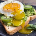 Kiwi Berries and Burrata Avocado Toast