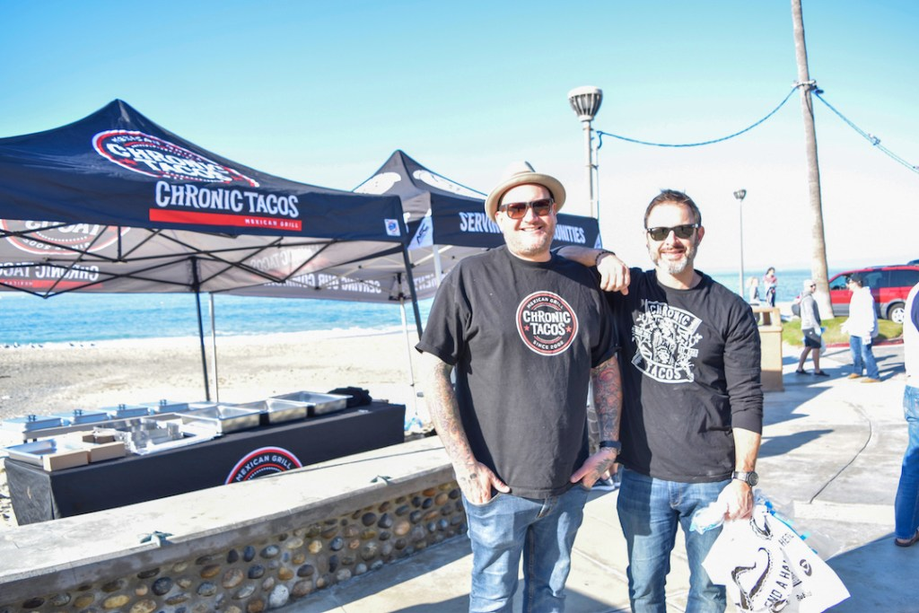 Chronic Tacos Beach Cleanup