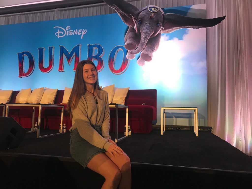 Disney's Dumbo press conference
