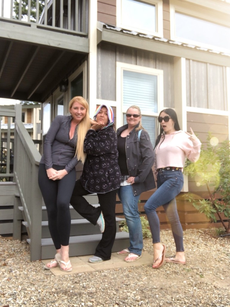 Glamping with Friends at KOA