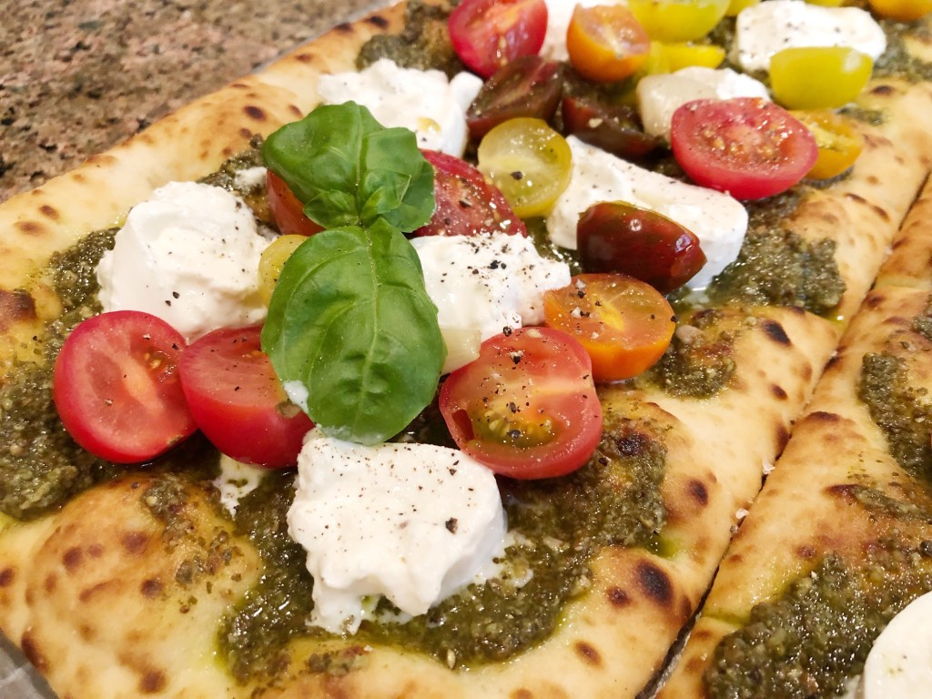 Heirloom Tomato Flatbread Recipe