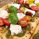 Roasted Garlic and Heirloom Tomato Flatbread Recipe