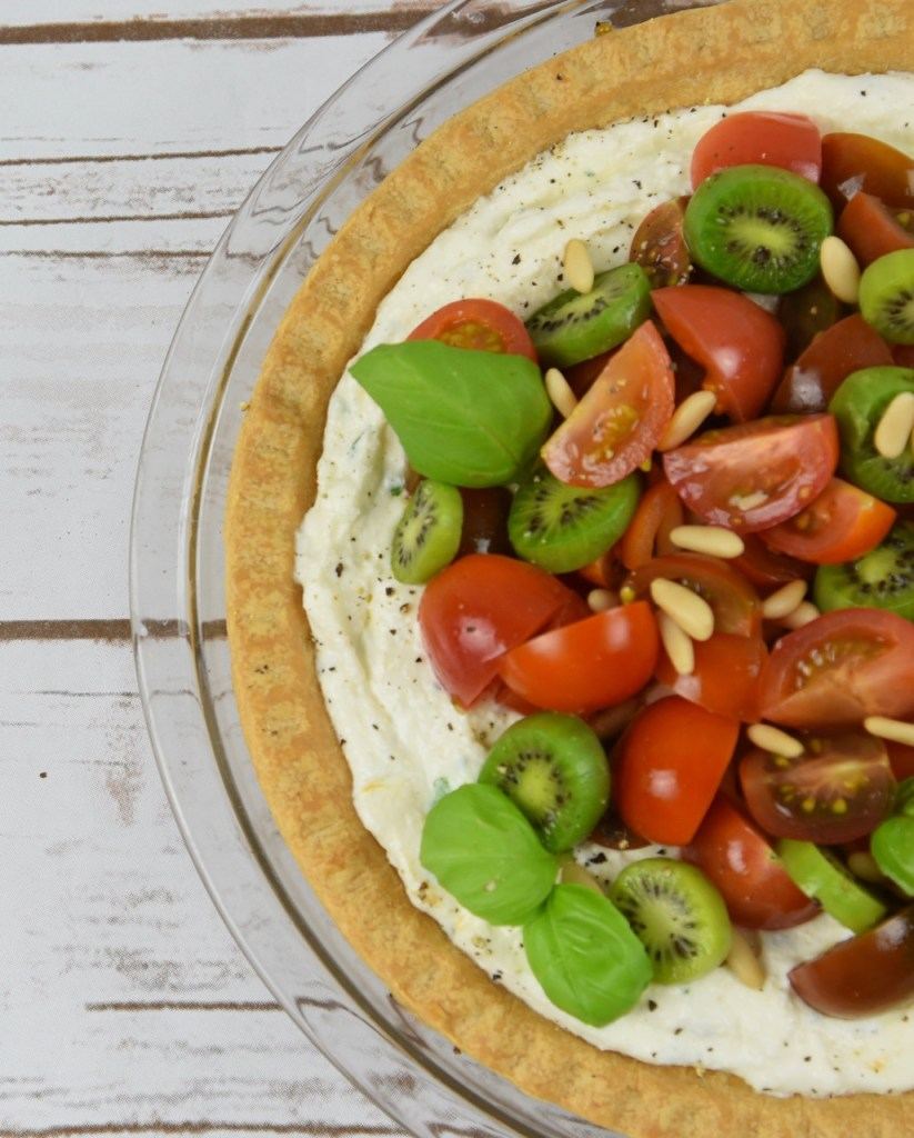 Kiwi Berries and Tomato Tart