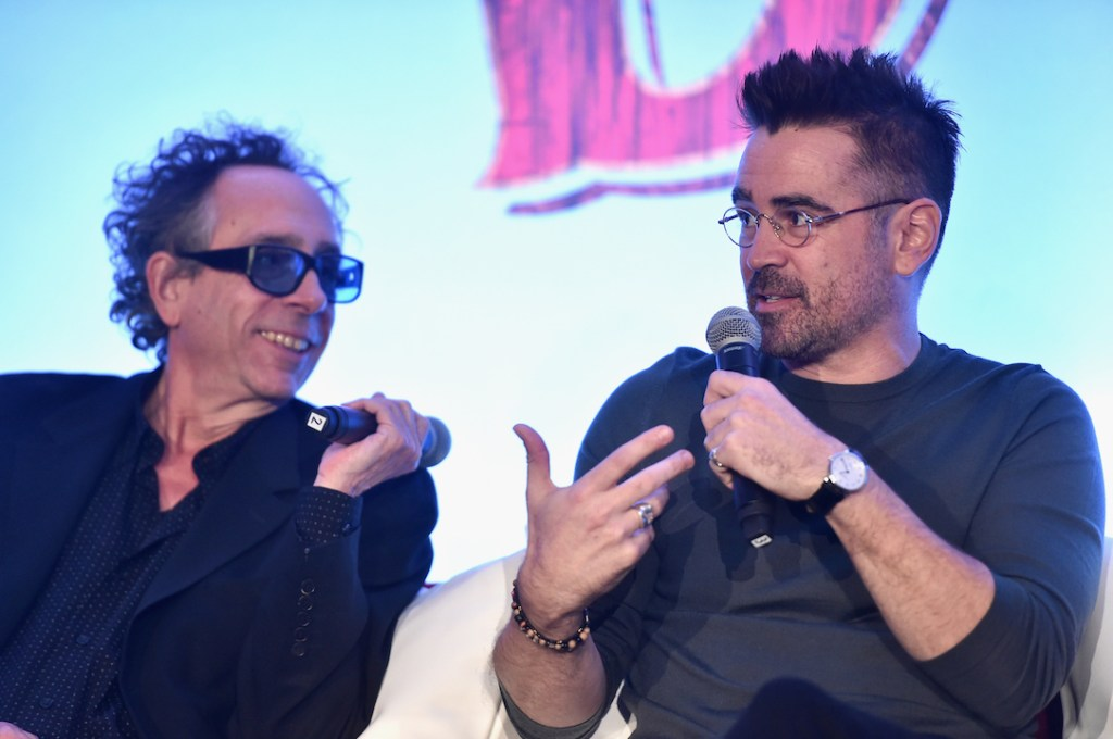 Tim Burton in Disney's Dumbo