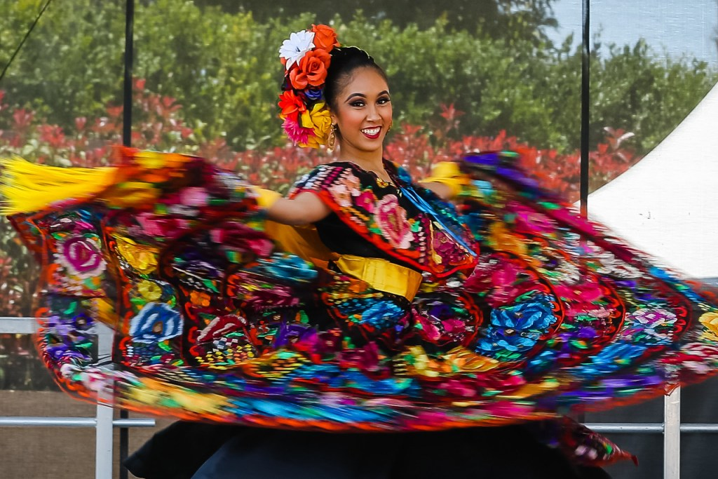 Dancer at the Heartbeat of Mexico