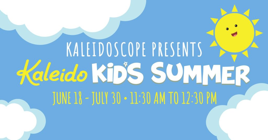 Kaleido Kids Summer Events