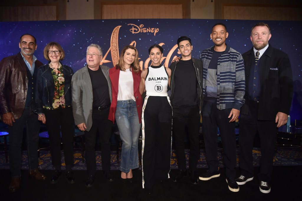 The cast of Disney's Aladdin