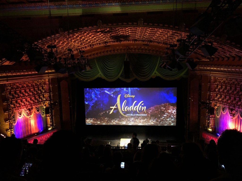 World Premiere of Disney's Aladdin at the El Capitan Theatre