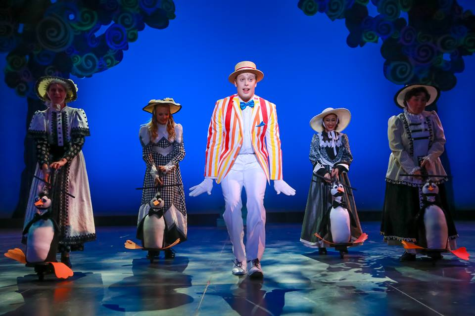 Mary Poppins Musical in Orange County