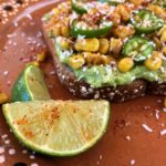 Mexican Street Corn 'Elote' Avocado Toast