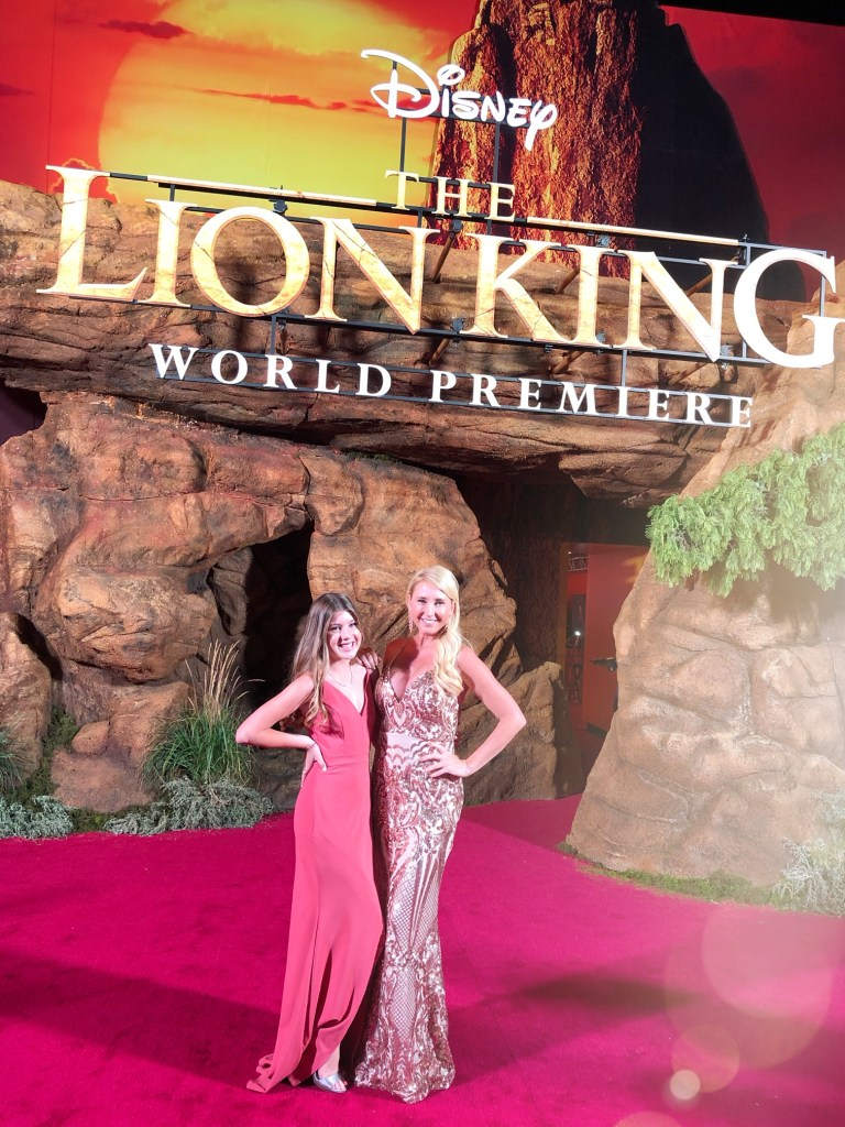 OC Mom at the Lion King Premiere