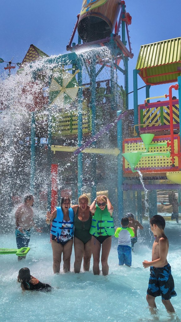 Water park at Aquatica San Diego