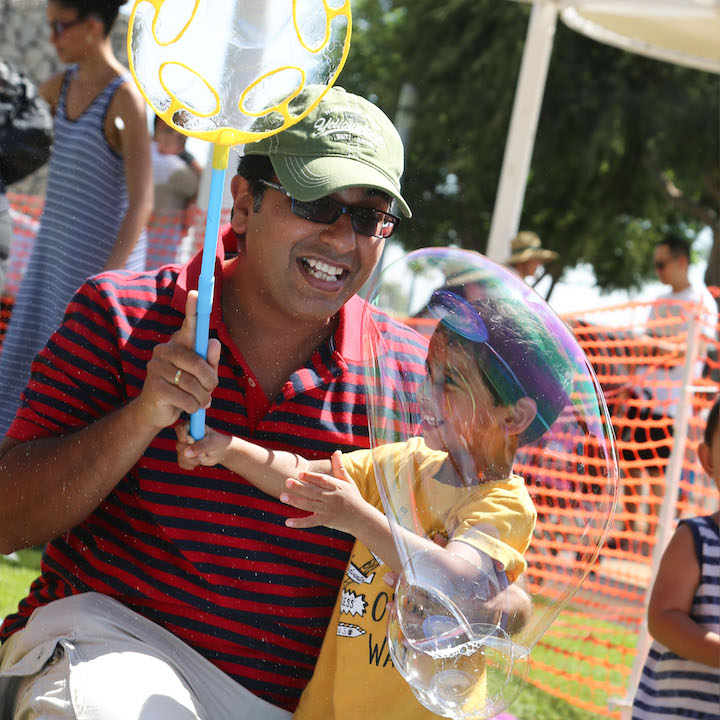 Family Fun at the Global Village Festival