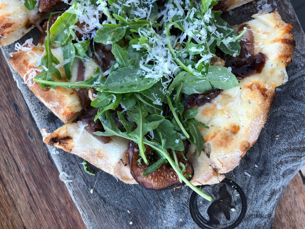 Fig flatbread at Barrel House Tavern in Sausalito