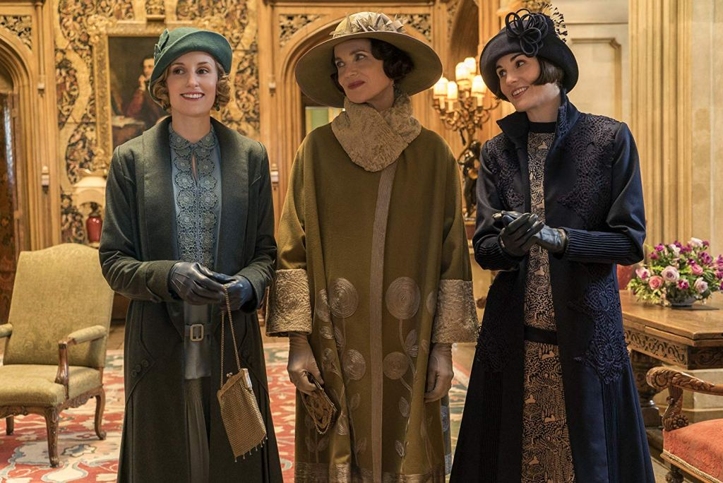 Scene from Downtown Abbey
