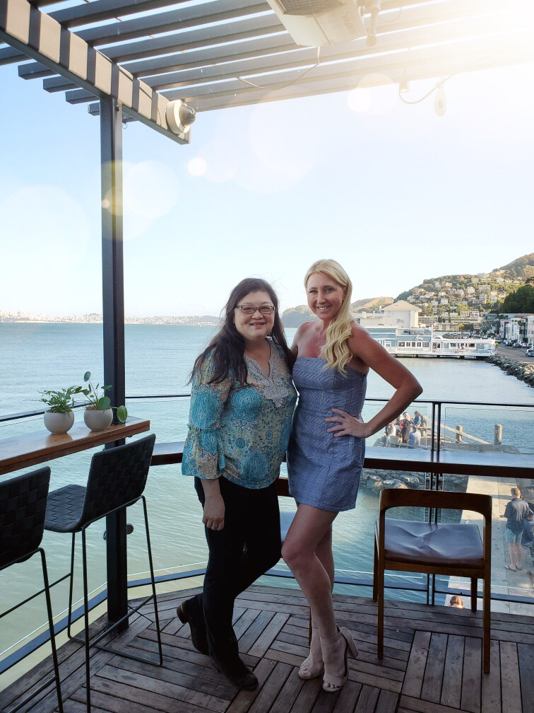 Shelby and Anita at Barrel House Tavern in Sausalito