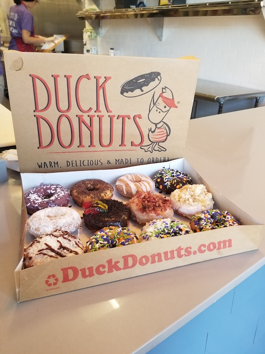 Duck Donuts on Halloween