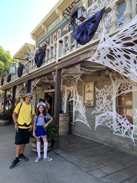 Knott's Berry Farm during Halloween