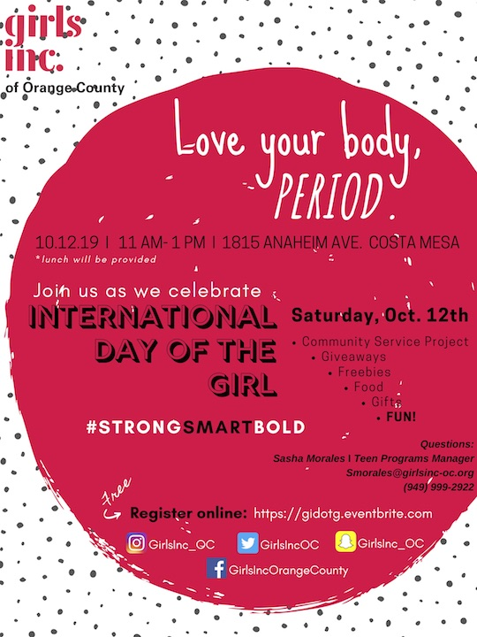 Love Your Body Girls Inc Event