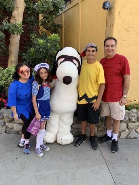 Snoopy during Halloween Time