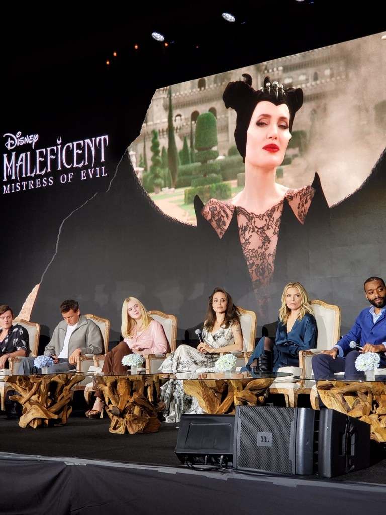 The cast of Maleficent