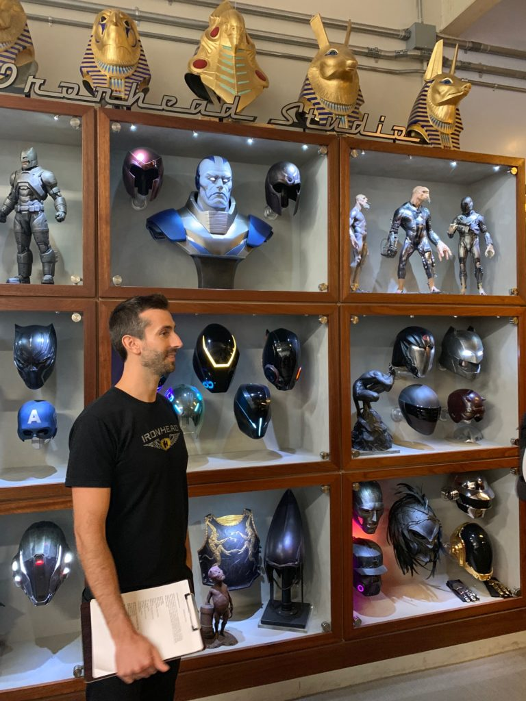 Visiting Ironhead Studios