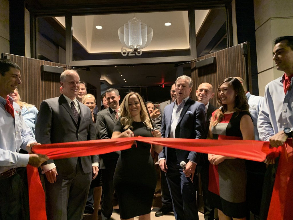 ribbon cutting at Fogo de Chão
