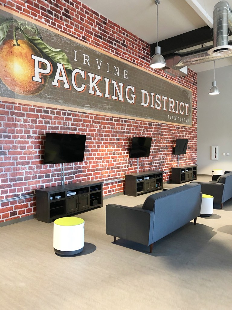 Anaheim Packing House Teen Room in Irvine