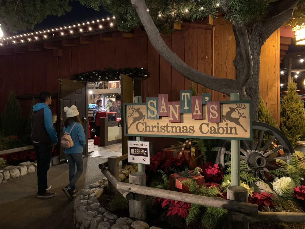 Santa's Christmas Cabin at Knott's Merry Farm