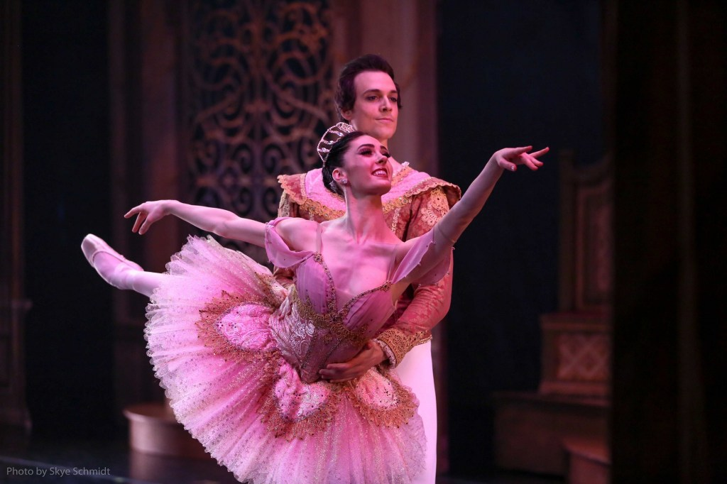 Beckanne Sisk and Chase O Connell as Sugar Plum and Cavalier