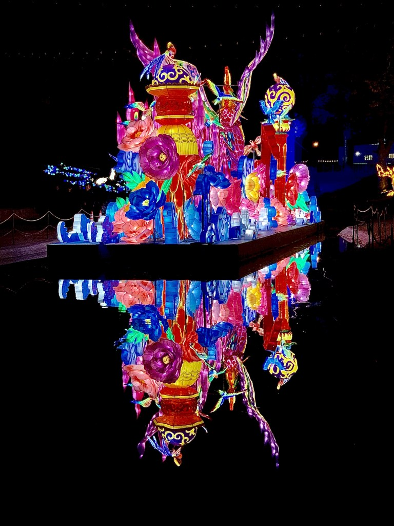 Lights at the Chinese Lantern Festival