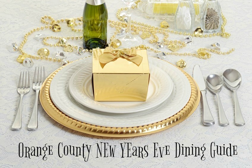OC New Year's Eve Dining
