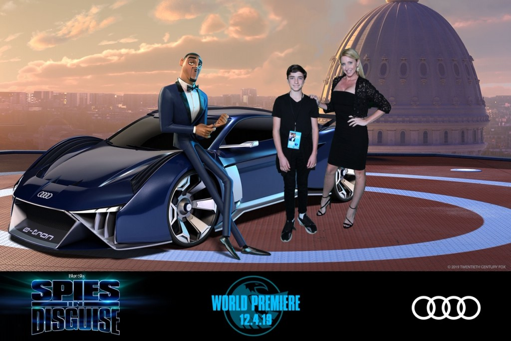 World Premiere Spies In Disguise Oc Mom Blog