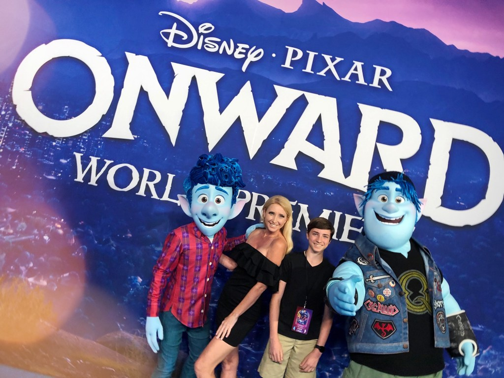 Pixar Onward World Premiere