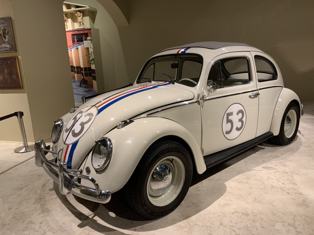Herbie Car at the Bowers Museum