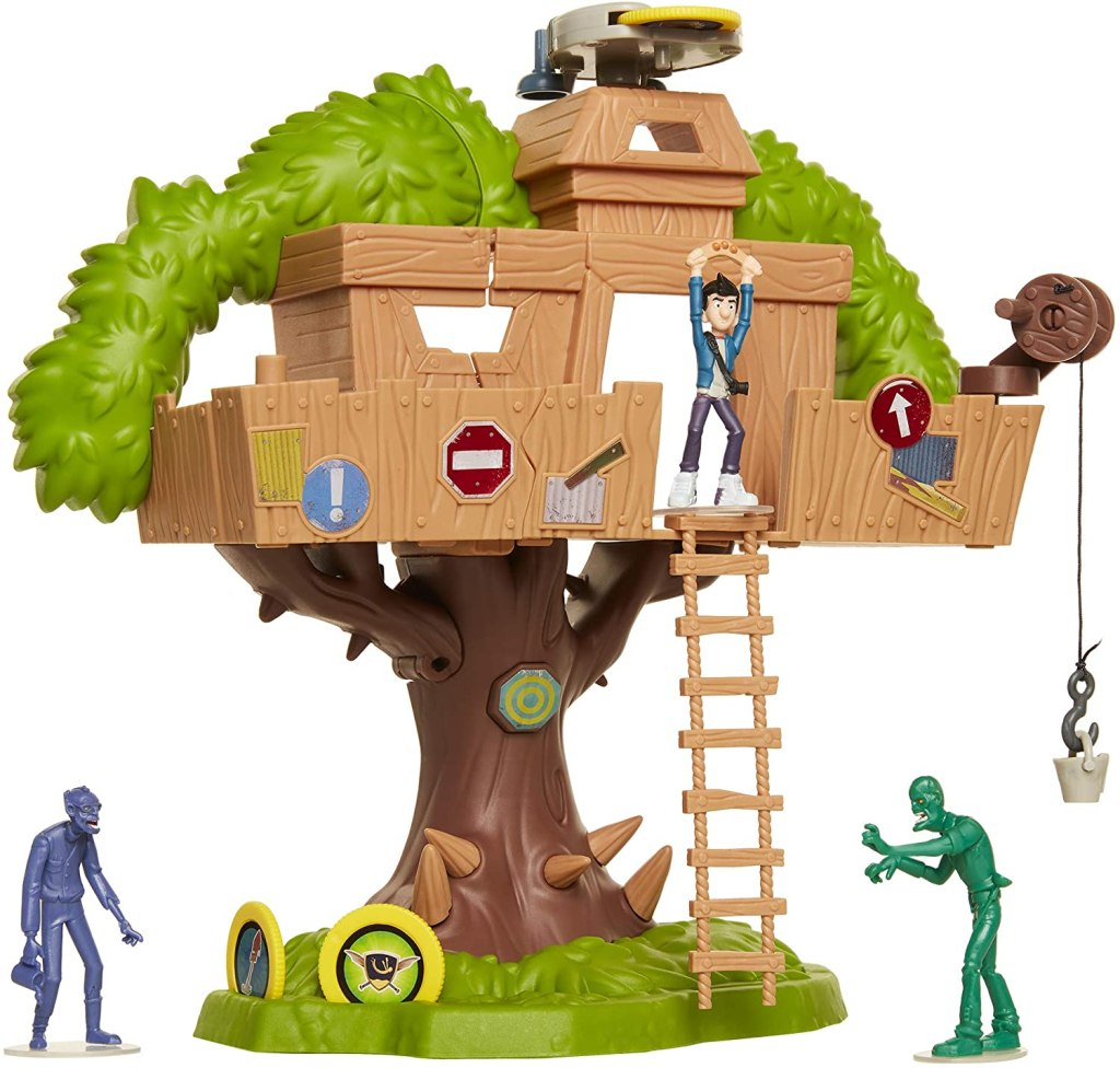 The Last Kids On Earth - Tree House of Awesomeness Playset, Includes Exclusive Jack Action Figure